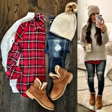 Stylish Winter Clothes Ideas For Women23
