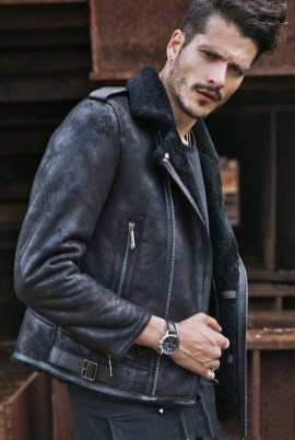 Affordable Leather Jacket Outfit Ideas17