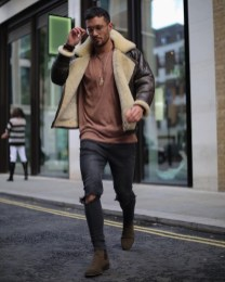Affordable Leather Jacket Outfit Ideas29