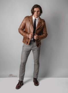 Affordable Leather Jacket Outfit Ideas41