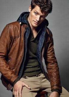 Affordable Leather Jacket Outfit Ideas44
