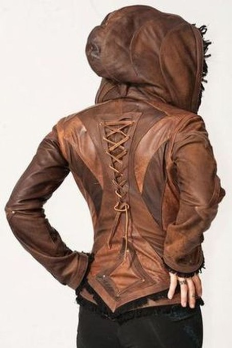 Affordable Leather Jacket Outfit Ideas46