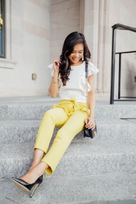 Cute Yellow Outfit Ideas For Spring08