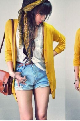 Cute Yellow Outfit Ideas For Spring18