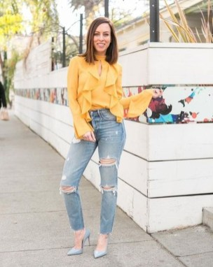Cute Yellow Outfit Ideas For Spring26