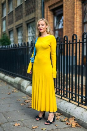 Cute Yellow Outfit Ideas For Spring35