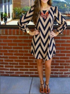 Fashionable Dress Outfit Ideas For Spring13
