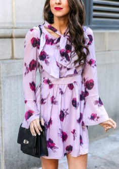 Fashionable Dress Outfit Ideas For Spring20