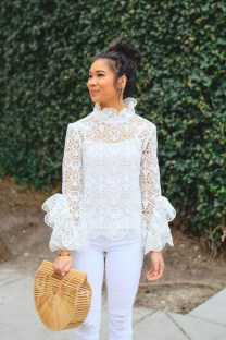 Lovely Spring Outfits Ideas With White Top07