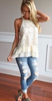 Lovely Spring Outfits Ideas With White Top09