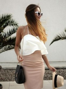 Lovely Spring Outfits Ideas With White Top31
