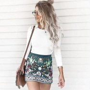 Lovely Spring Outfits Ideas With White Top37