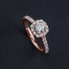 Brilliant Rose Gold Wedding Rings Ideas09