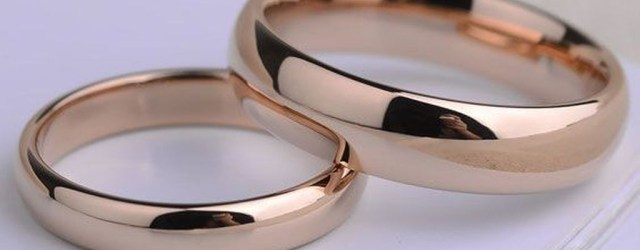 Brilliant Rose Gold Wedding Rings Ideas26