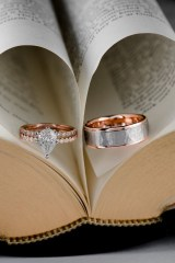 Brilliant Rose Gold Wedding Rings Ideas33