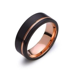 Brilliant Rose Gold Wedding Rings Ideas34