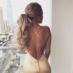 Charming Ponytail Hairstyles Ideas With Sophisticated Vibe05