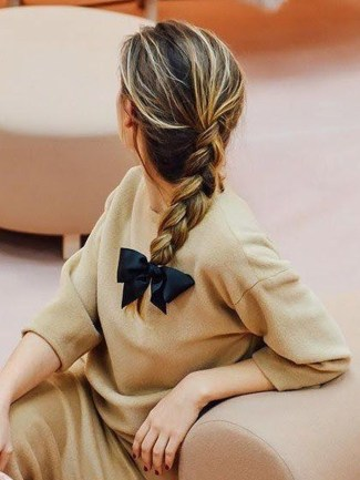 Charming Ponytail Hairstyles Ideas With Sophisticated Vibe07