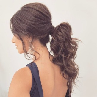 Charming Ponytail Hairstyles Ideas With Sophisticated Vibe27