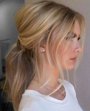 Charming Ponytail Hairstyles Ideas With Sophisticated Vibe38