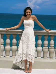 Gorgeous Tea Length Wedding Dresses Ideas03