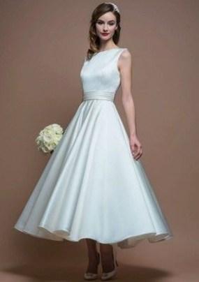 Gorgeous Tea Length Wedding Dresses Ideas06