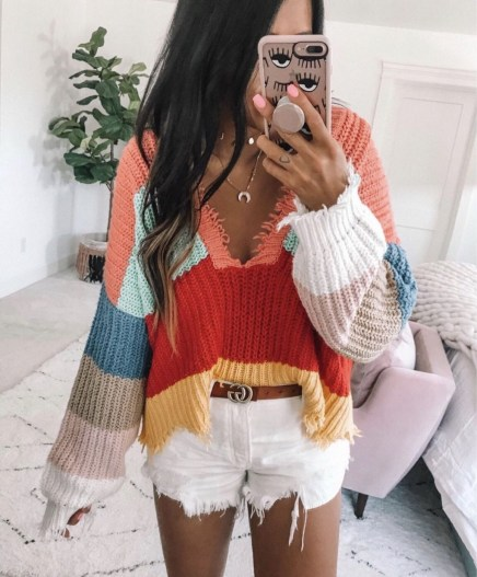 Impressive Sweater Outfits Ideas For Spring01