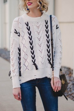 Impressive Sweater Outfits Ideas For Spring10