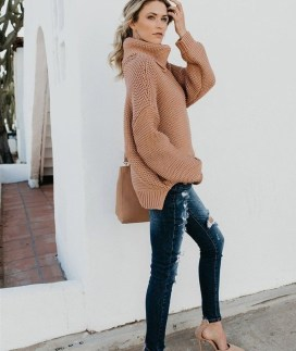 Impressive Sweater Outfits Ideas For Spring18