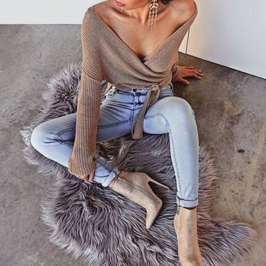 Impressive Sweater Outfits Ideas For Spring19
