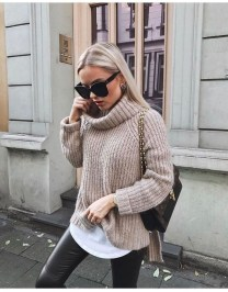 Impressive Sweater Outfits Ideas For Spring35