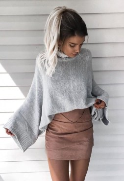 Impressive Sweater Outfits Ideas For Spring39
