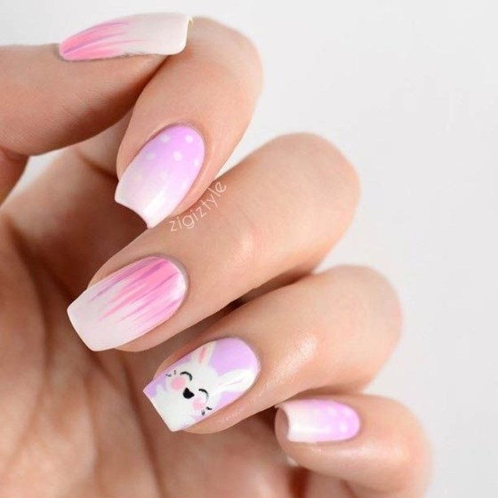 Modern Easter Nail Art Design Ideas39