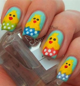 Modern Easter Nail Art Design Ideas43