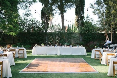 Pretty Backyard Reception Decoration Ideas09