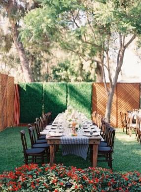Pretty Backyard Reception Decoration Ideas41