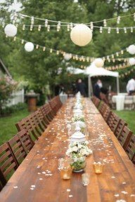 Pretty Backyard Reception Decoration Ideas42