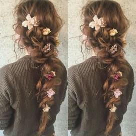 Stylish Mermaid Braid Hairstyles Ideas For Girls04