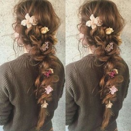 Stylish Mermaid Braid Hairstyles Ideas For Girls04