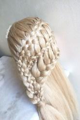 Stylish Mermaid Braid Hairstyles Ideas For Girls10