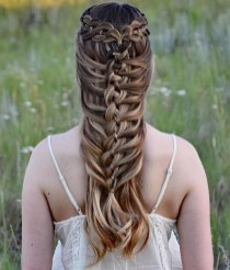 Stylish Mermaid Braid Hairstyles Ideas For Girls12