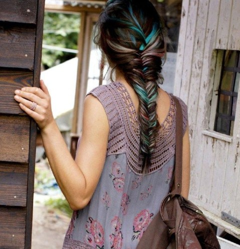 Stylish Mermaid Braid Hairstyles Ideas For Girls35