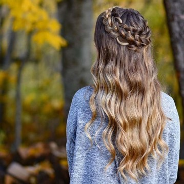 Stylish Mermaid Braid Hairstyles Ideas For Girls44