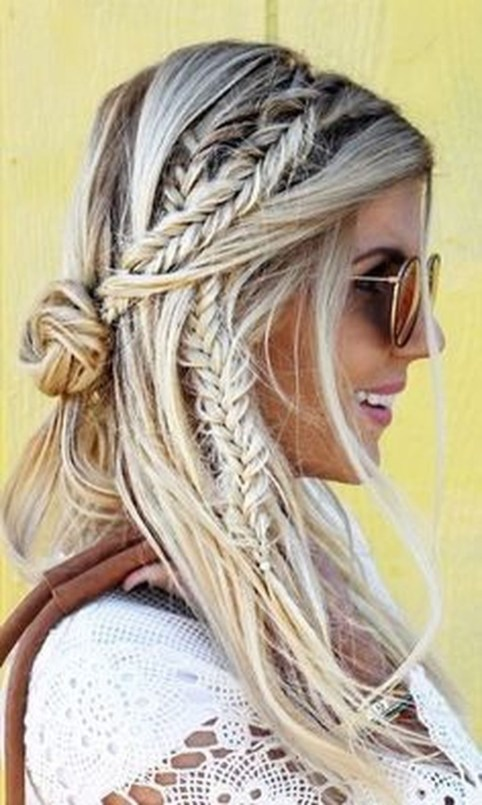 Stylish Mermaid Braid Hairstyles Ideas For Girls45