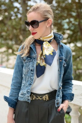 Best Ideas To Wear A Scarf Stylishly This Spring16