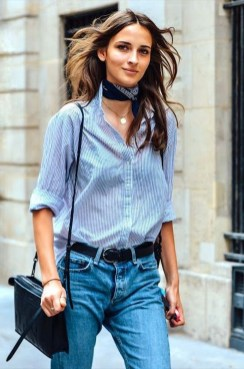 Best Ideas To Wear A Scarf Stylishly This Spring24