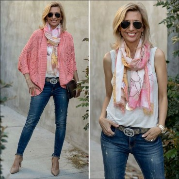 Best Ideas To Wear A Scarf Stylishly This Spring27