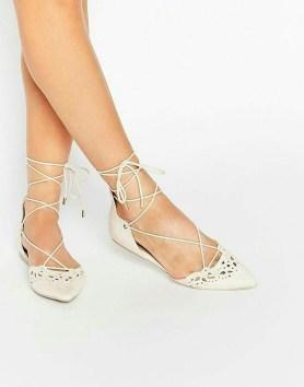 Captivating Flat Wedding Shoes Ideas21