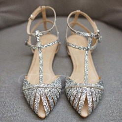 Captivating Flat Wedding Shoes Ideas29