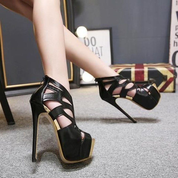 Comfy High Heels Ideas For Women35